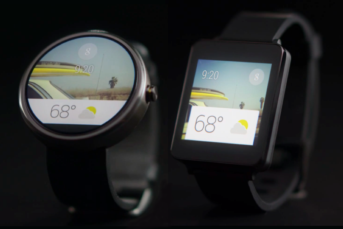 android wear g watch moto 360