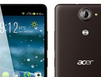 Acer Liquid E600 Specificatii