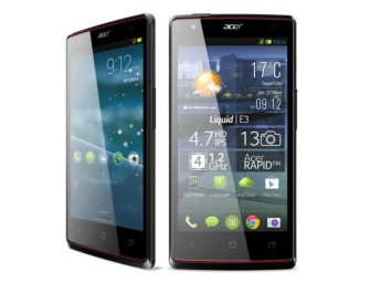 Acer Liquid E3 Specificatii
