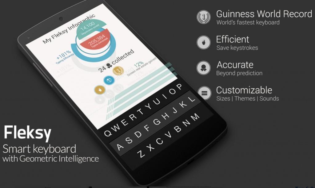 fleksy keyboard swiftkey cele mai bune tastaturi pentru Android