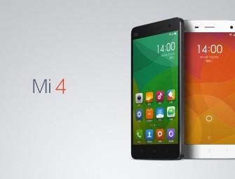 Xiaomi lansează Mi 4 – cel mai rapid telefon al companiei chineze!