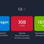 Xiaomi mi4. specificatii