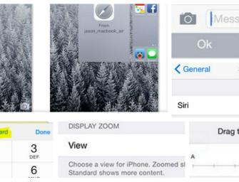 iOS 8: 33 de lucruri pe care le poti face pe noul OS