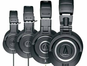 Seria M de la Audio Technica : M20x, M30x, M40x, M50x si M70x – Prezentare pe scurt