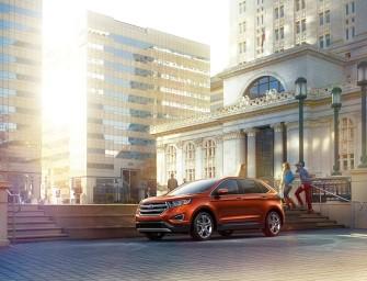 Noul Ford Edge 2015 Cu Ultimele Tehnologii Ford – Foto