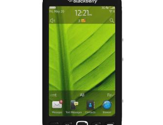 BlackBerry Volt Specificatii