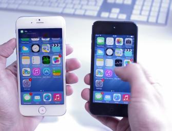 Cum va arăta iOS 8 pe iPhone 6 – Video