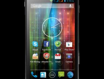 Prestigio MultiPhone 5500 Duo Specificatii