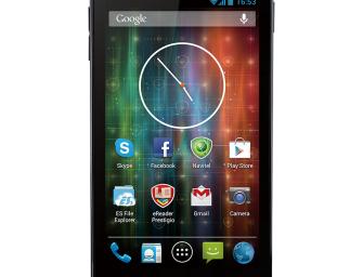 Prestigio MultiPhone 5501 Duo Specificatii