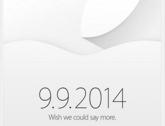 Apple a început să trimită invitații pentru evenimentul din 9 Septembrie