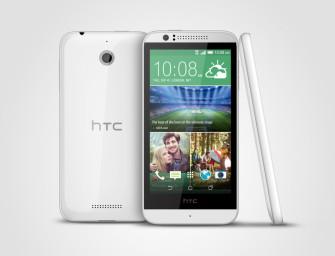 HTC lansează Desire 510, cel mai ieftin telefon 4G al companiei taiwaneze
